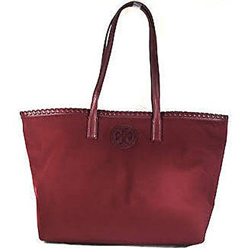 Tory Burch Marion Nylon East West Small Tote Handbag - Cabernet Red Tory Burch http://www.amazon.com/dp/B017LCEBJA/ref=cm_sw_r_pi_dp_8stswb1043R0Y