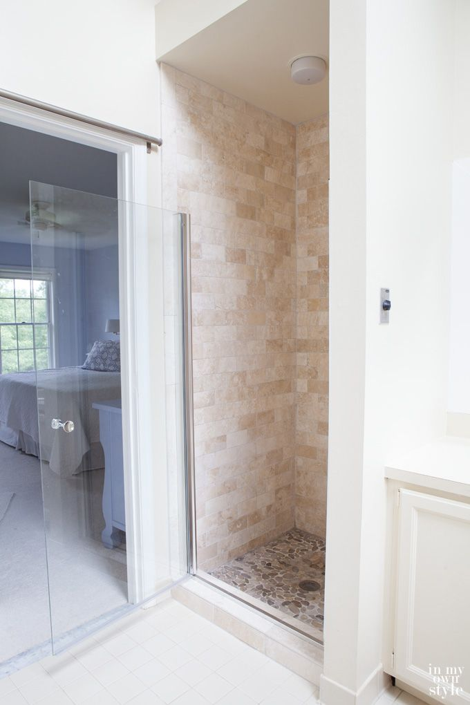 Need some inspiration for a bathroom. Check out this shower makeover ...