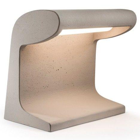 Nemo vuelve a emitir la lámpara de cemento diseñada por Le Corbusier