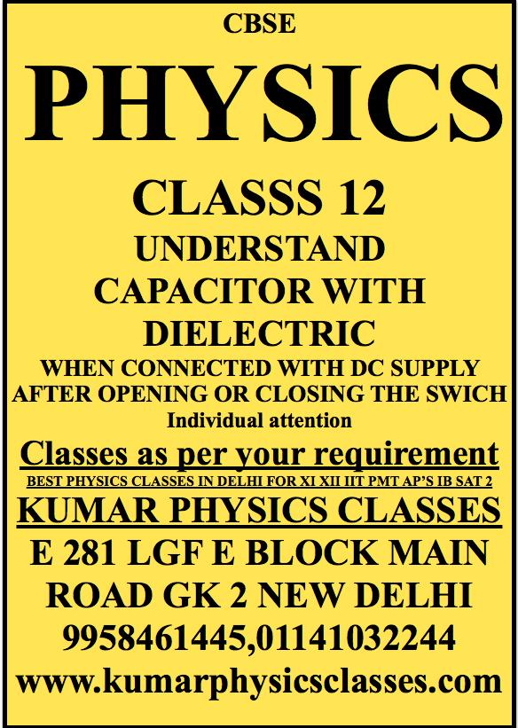 IB Physics Tutor In Delhi | PHYSICS CLASSES | College