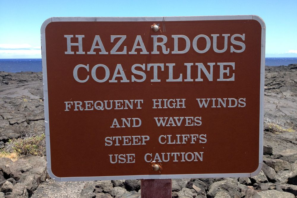 Hazardous coastline hawaii travel with images