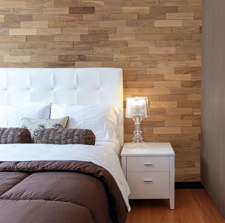 Eiche Tabak Holzwand Holzdesign Wandgestaltung