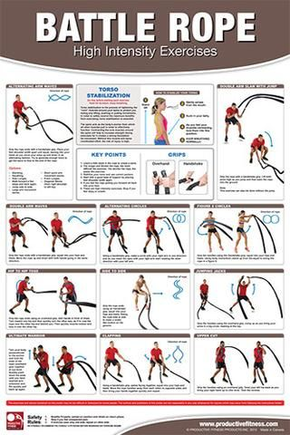 battle rope highintensity exercises professional fitness