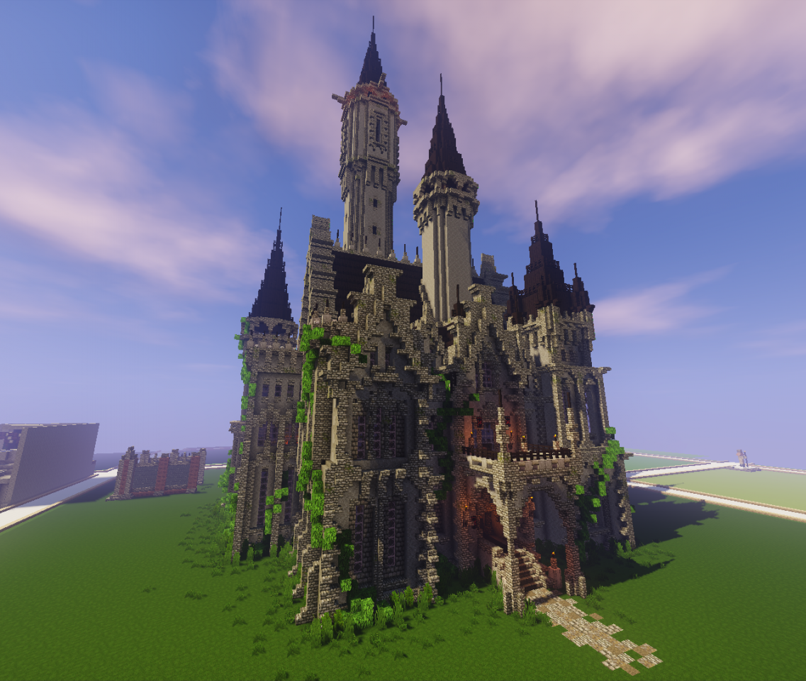 Gothic Castle  Now With Download  Minecraft Project