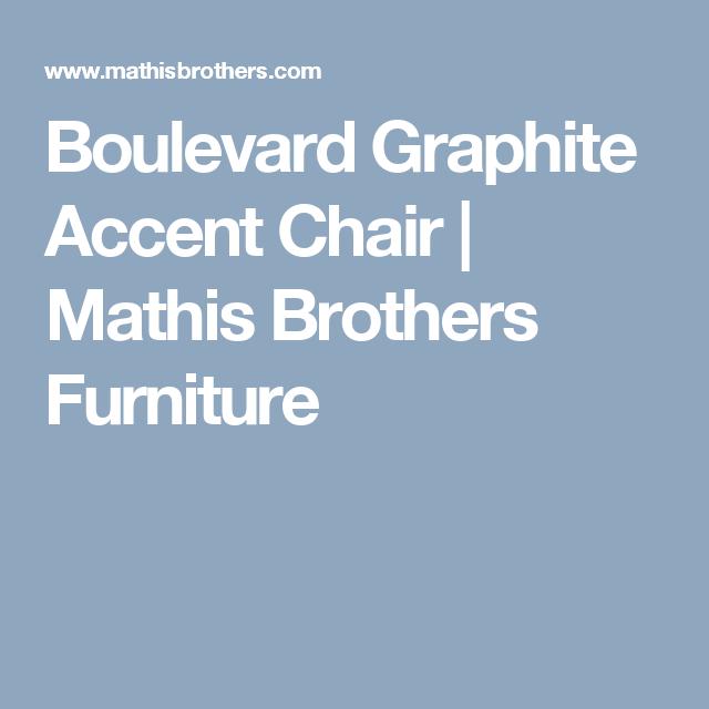 Boulevard Graphite Accent Chair