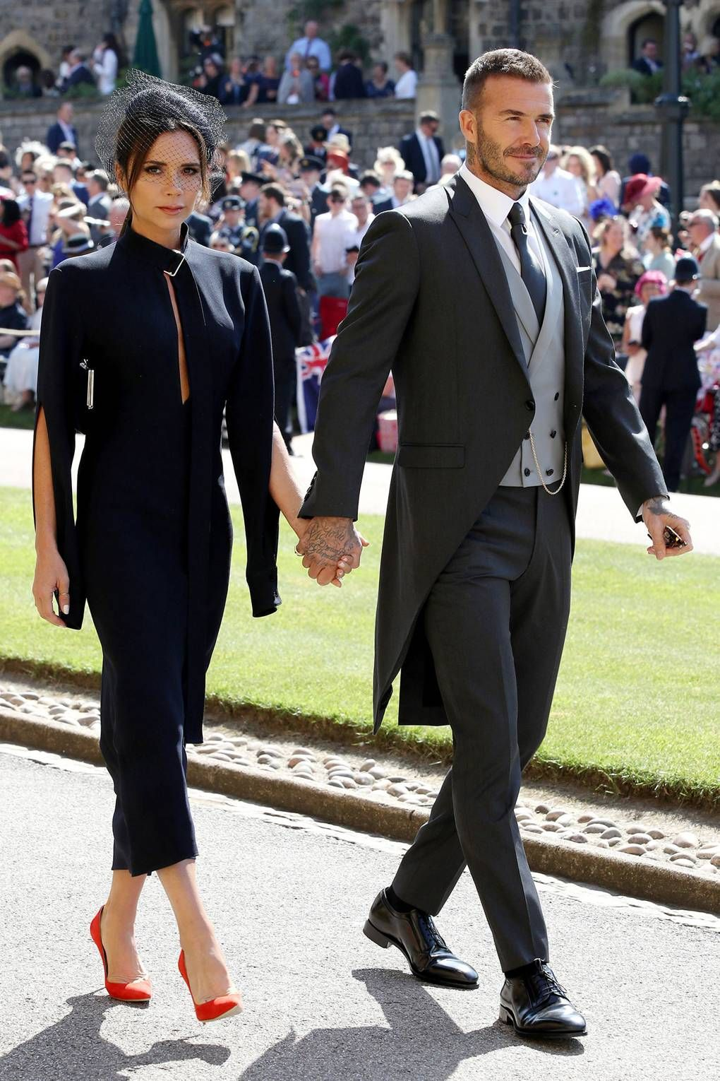 Royal Wedding Guest Photos Victoria Beckham Outfit Ideas David