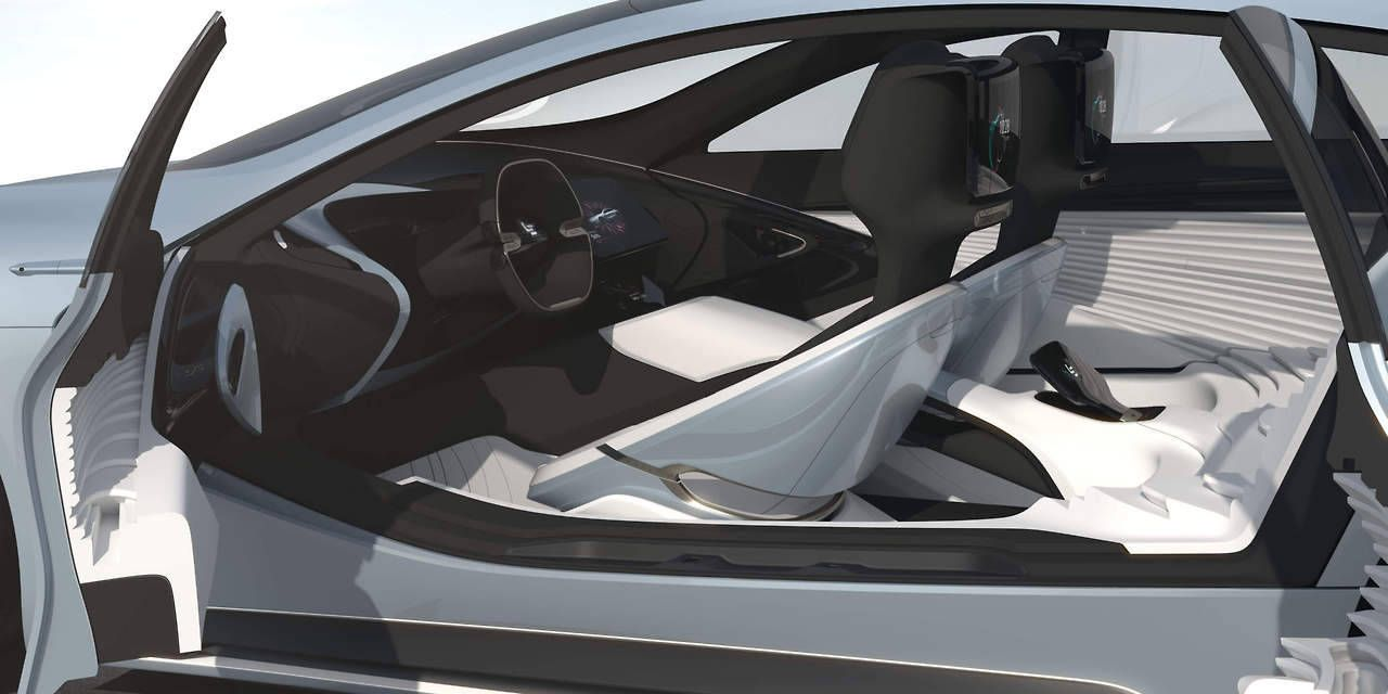 The Leeco Lesee Concept Was Inspired By The Earths Topography And