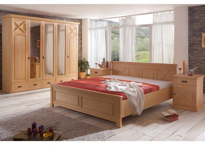 Schlafzimmer Komplett Pinie - Ein Traum im #Landhausstil für ihr ...
