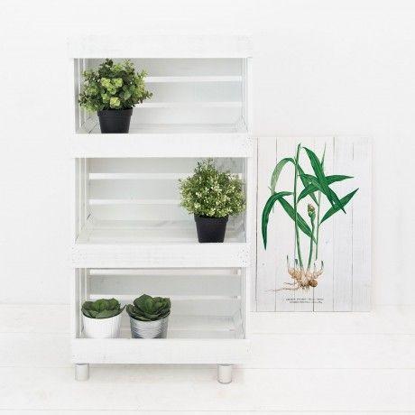 3 Story Fruit Shelf By Decowood Designed In Spain #MONOQI #PineWood