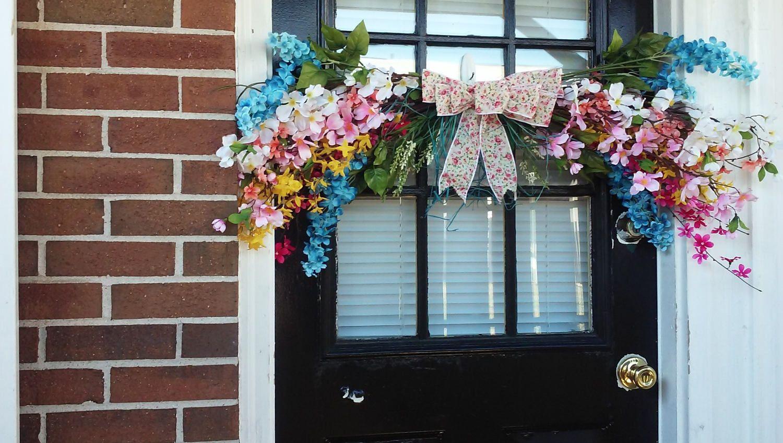 Springsummer Wreathswag Wreathfloral Swag Wreathyear Round