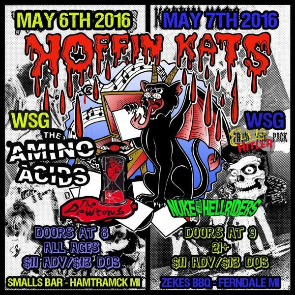 Detroit psychobilly act, Koffin Kats, are back in the area this weekend for two big hometown shows where they will be playing their first...