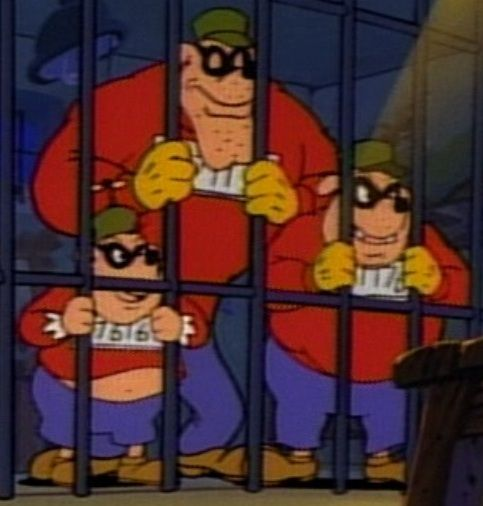 Babyface Bankjob Burger Beagle In Jail Mickey Mouse Beagle