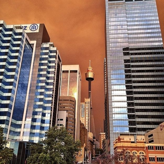 The CBD looked freaky. | 50 Surreal Images From Sydney's Bushfire Crisis