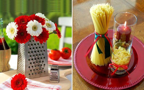 5 dicas para colocar a mesa moda italiana italian for Decoracion italiana