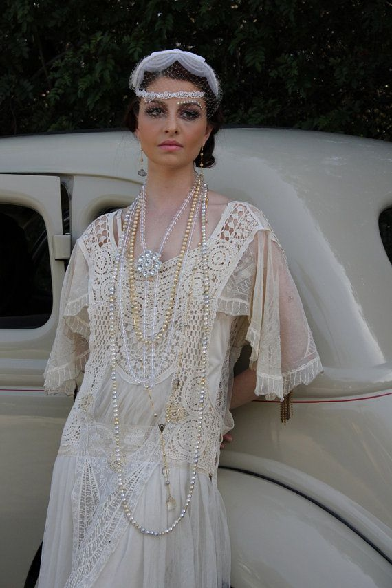 Modern Day Gatsby Glamour… | 1920s, Gatsby and Flapper wedding dresses