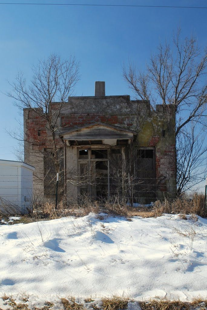 School No 91 Red Bud Cowley County Kansas Abandoned Places Abandoned Buildings Ghost Towns