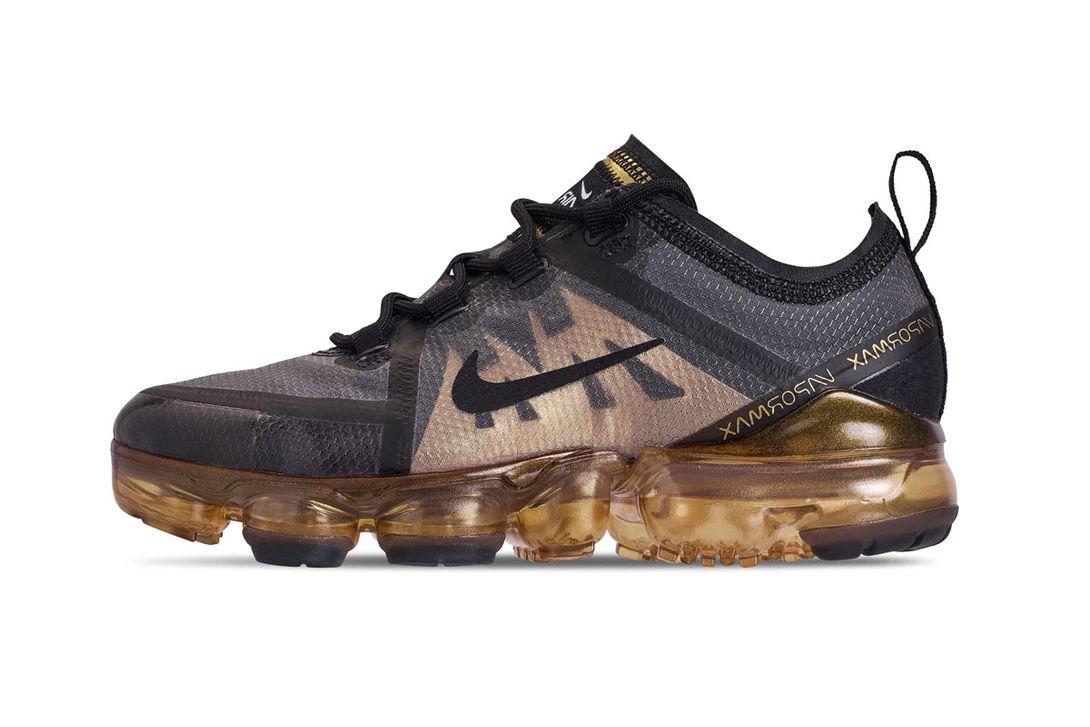 5530d8ca6ce80 Nike VaporMax 2019 Black Gold