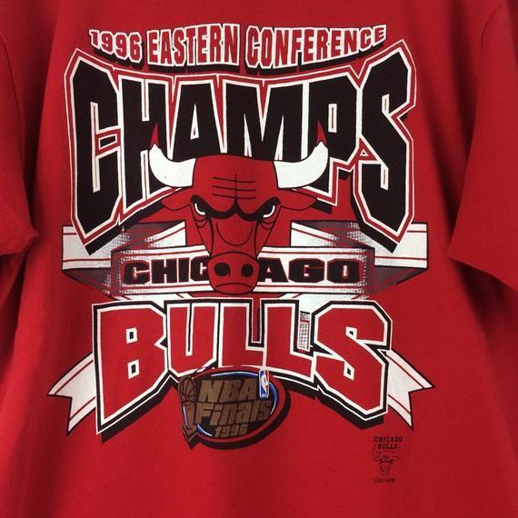 timeless design bcd36 fbde3 Vintage Chicago Bulls Shirt / 1996 Eastern Conference ...