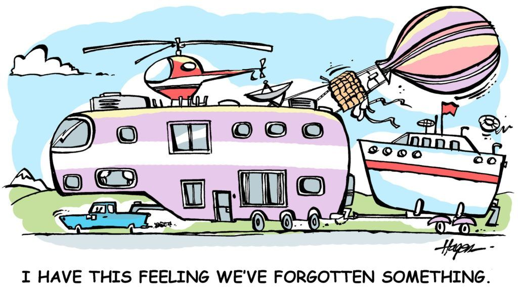 Oops With Images Rv Pictures Camping Humor Camping Cartoon