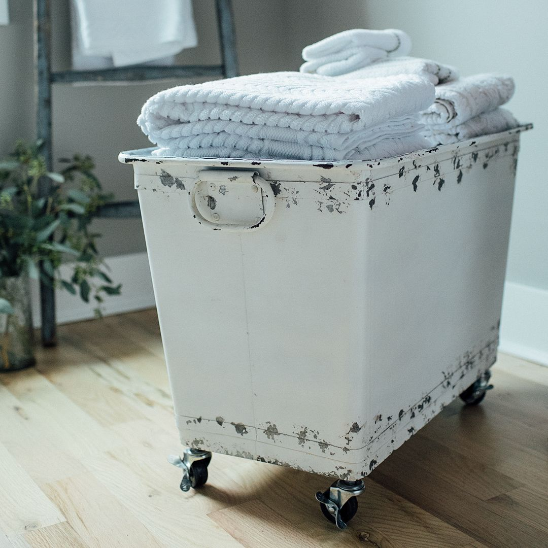 Laundry day is more like a joy ride with this Metal Laundry Tub on ...