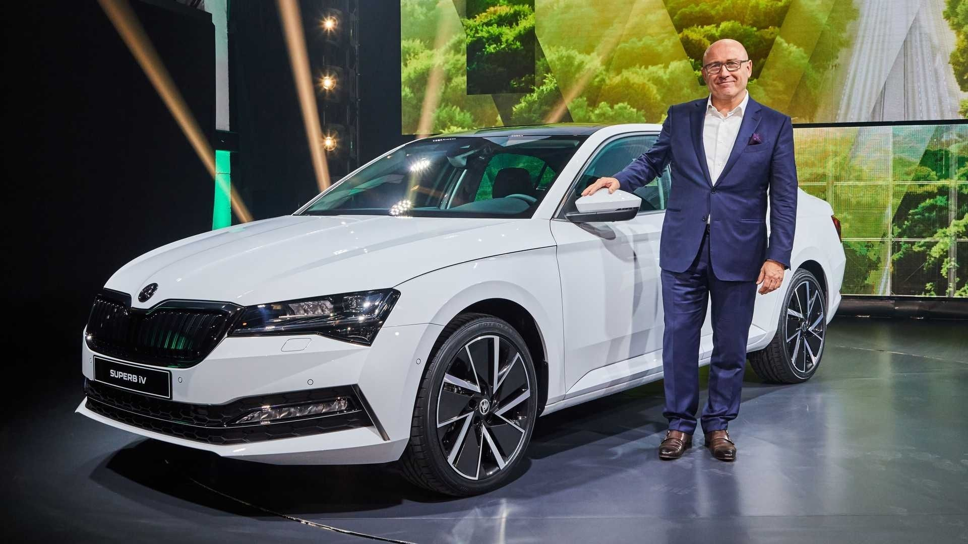 2020 Skoda Superb Sportline Engine Skoda Superb