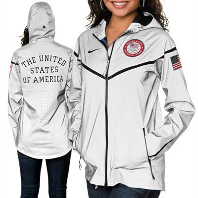 Nike USA Women s London 2012 21st Century Windrunner Jacket. I was just  saying how much I liked their jackets. 50aa4978f