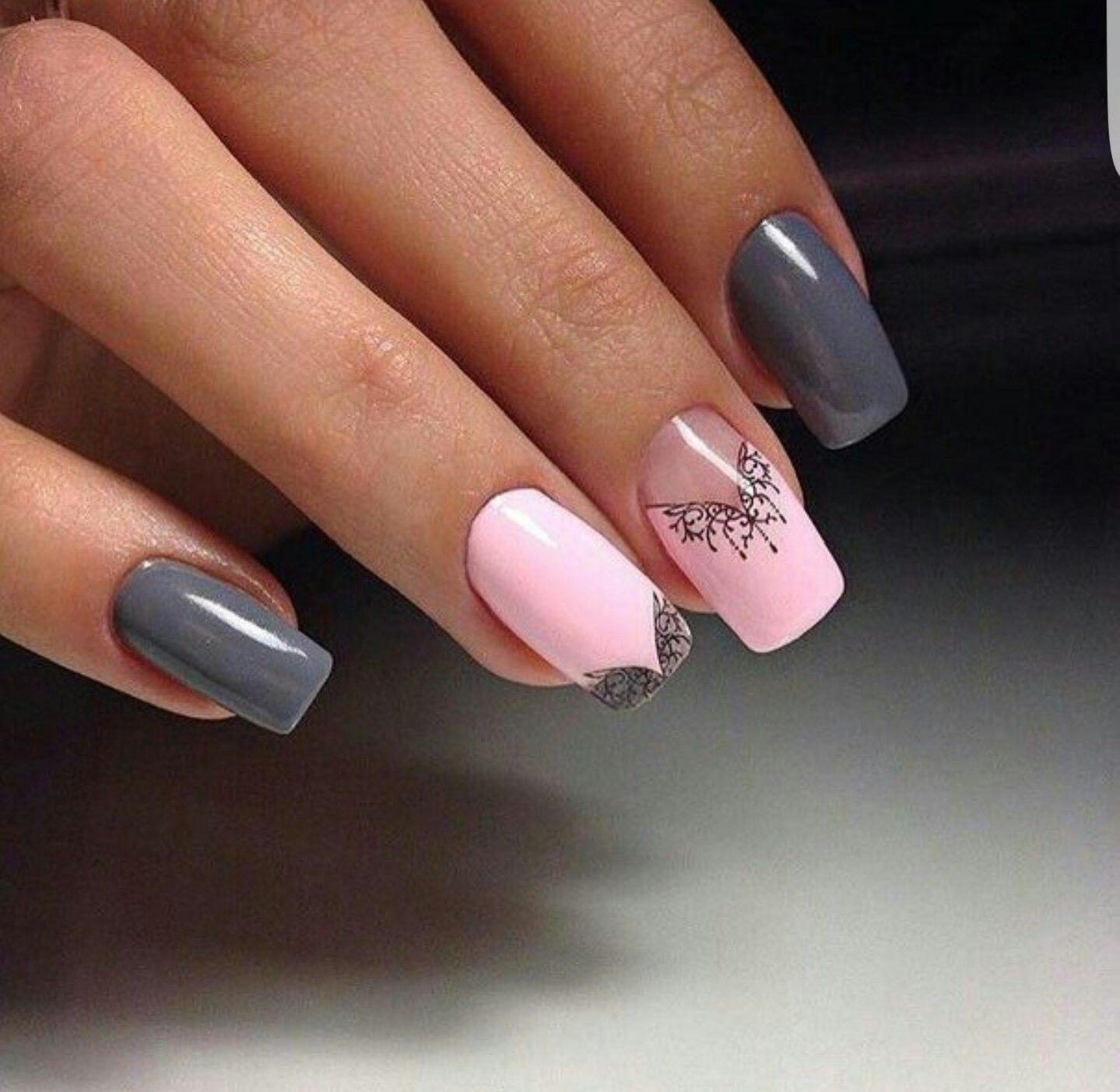 Pin by A B on 1Nail Art Designs Using Scotch Tape | Pinterest ...