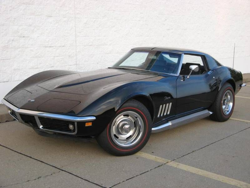 Corvette Stingray 1969 >> Black 1969 Corvette My Fave Year Do You Know Who This Is For