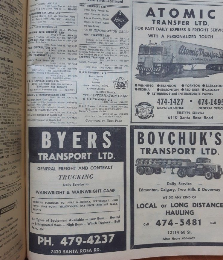 Our history 1967 phone book Yorkton, Old trucks, Daily