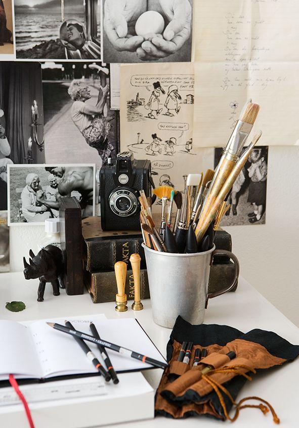 Skrivebordslykke – for Rom123