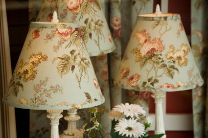 Making custom fabric covered lampshades to match your decor is an making custom fabric covered lampshades to match your decor is an easy way to mozeypictures Choice Image