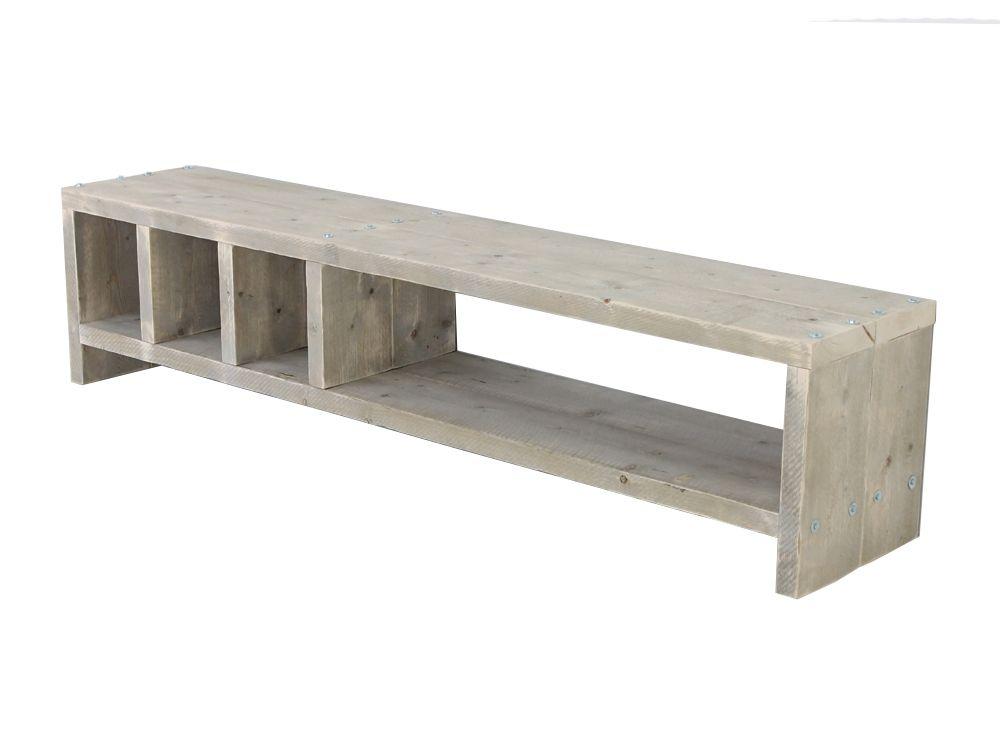 Bauholz TV Lowboard Martin - Bauholzmoebeldesignde TV Möbel Holz - möbel martin küchen