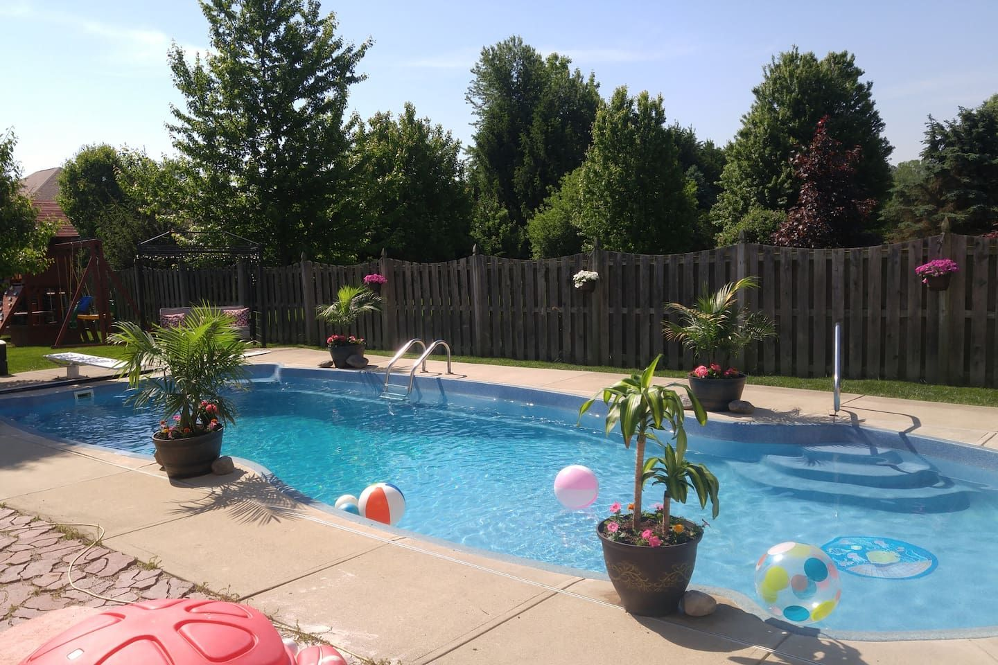 Heated inground pool in ground pools apartments for