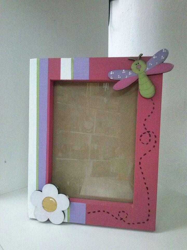 Portaretrato flor | KIDS | Pinterest | Flor, Portarretrato y Marcos