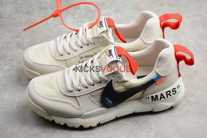 Custom Off-White x NikeCraft Mars Yard 2.0 Tom Sachs Beige - Nike
