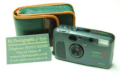 Yashica T4 In Safari Green With Carl Zeiss T Lens Rs Photo Newent U2086 On Ebay