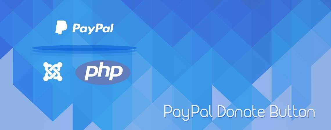 How to Add a PayPal Donation Button in Joomla | Joomla and
