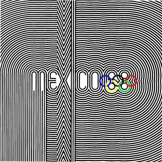 Mexico 1968   Op-Art