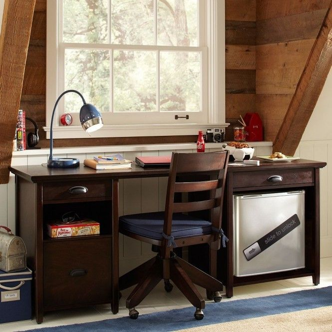 Like this site boys study space attic a great study space inspiration for teens