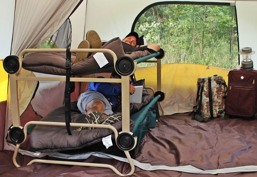 Best Camping Bunk Bed Cots Disc O Bed Cam O Bunk With 2