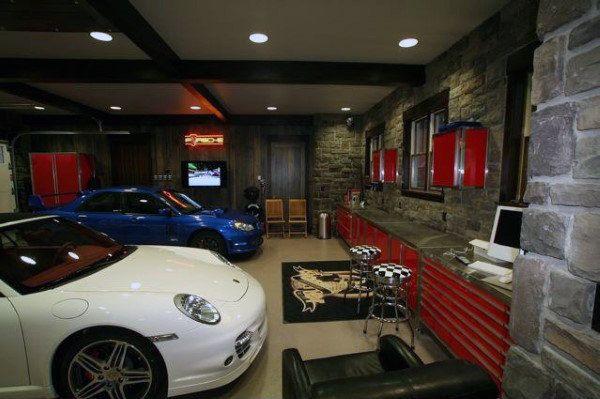 Luxury Garage Man Cave : Dream man cave garages garage pinterest