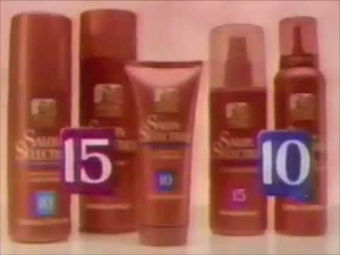 Salon Selectives commercial - 1991 - YouTube