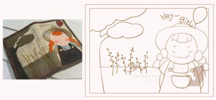 [转载]一些可爱的韩国手工包包,画了几个图样鈥︹