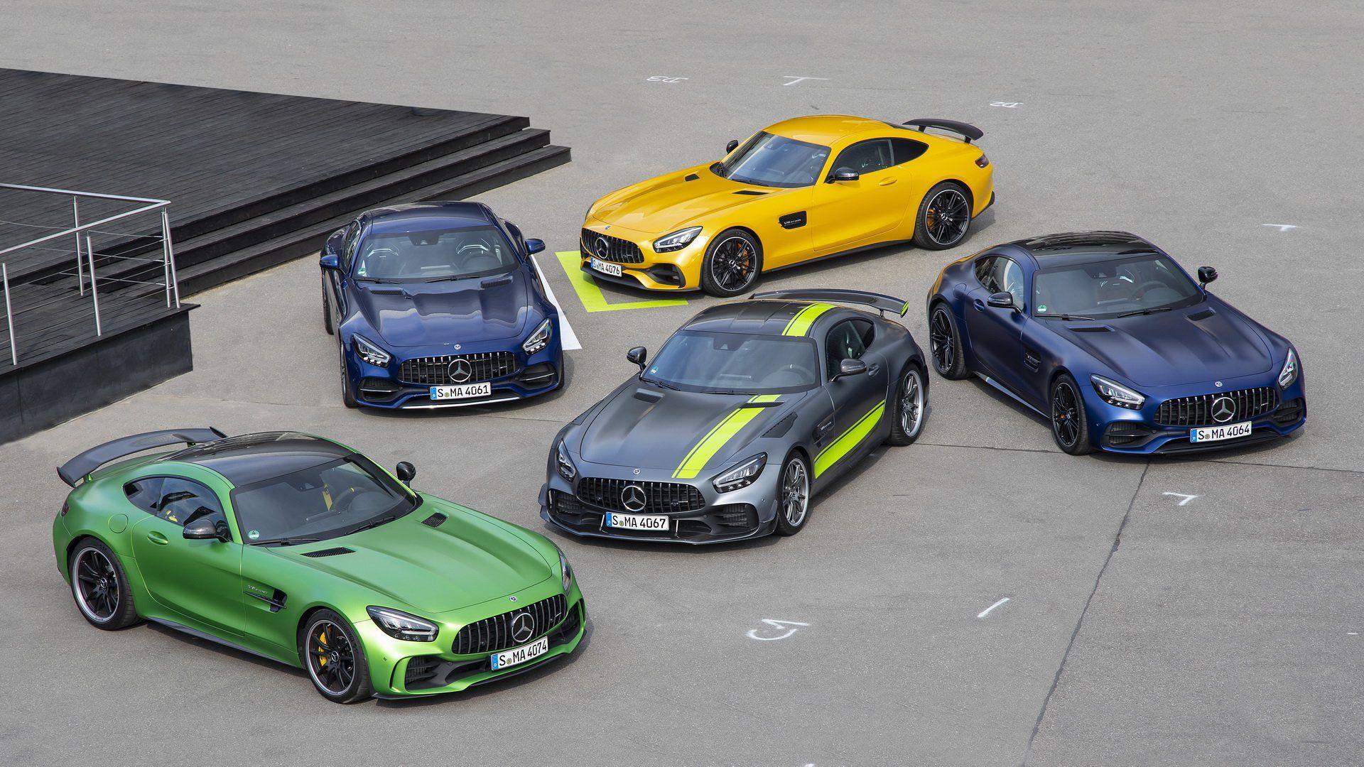 Mercedes Details 2020 Amg Gt R Pro Along With Updated Range Carscoops Mercedes Amg Mercedes Benz Amg Mercedes Car