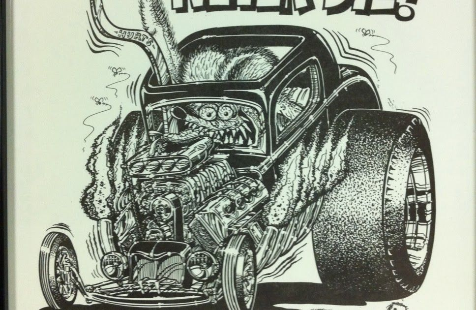 Pin by Alan Tobe on Punisher | Pinterest | Rat fink, Rats and Car ...
