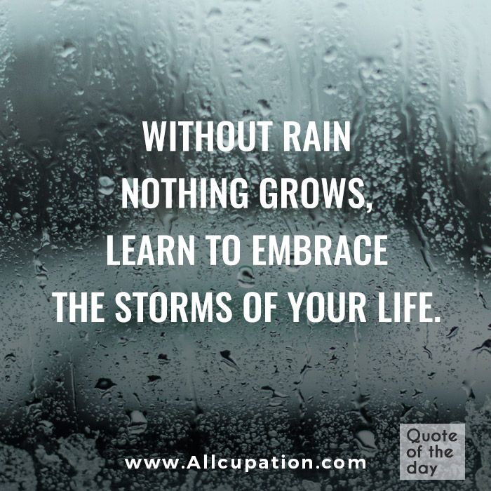 Rainy Day Quotes Positive: Motivational Quotes For Women