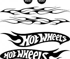 Image Result For Hot Wheels Logo Black And White Wheel Logo Hot Wheels Birthday Hot Wheels