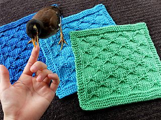 Butterfly Bowknot Dishcloth. Great pattern, easy to ...