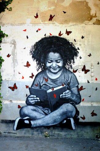 Pintura en las calles (arte callejero)