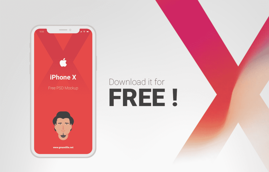 Download White Iphone X Mockup White Iphone X Mockup Free With Customizable Psd Mockup Iphone Mockup Free Psd